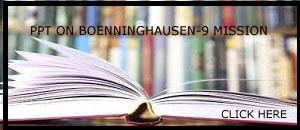 PPT ON BOENNINGHAUSEN -9 MISSION