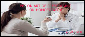 PPT ON ART OF PRESCRIBING IN HOMOEOPATHIC PRACTICE