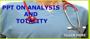 PPT ON ANALYSIS AND TOTALIT OF PT.
