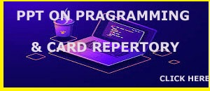 PPT ON PROGRAMMING ON CARD REPERTORY