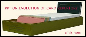 PPT ON EVOLUTION ON CARD REPERTORY